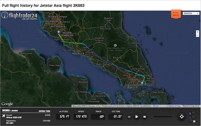 Review of Jetstar Asia Airways flight from Singapore to ...