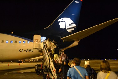 Review Of Aeromexico Flight From Cancún To Mexico City In Economy