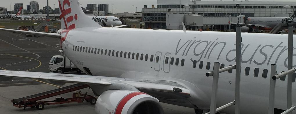 Review of Virgin Australia flight from Sydney to Melbourne