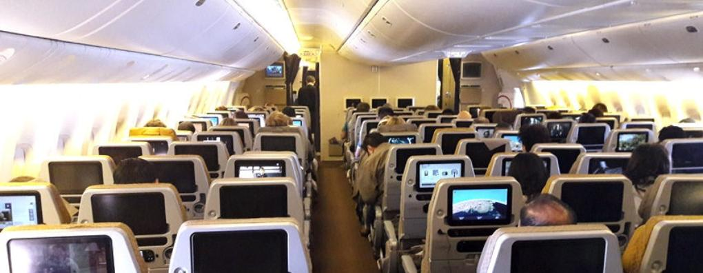 Review of Singapore Airlines flight from Singapore to Sydney in Economy