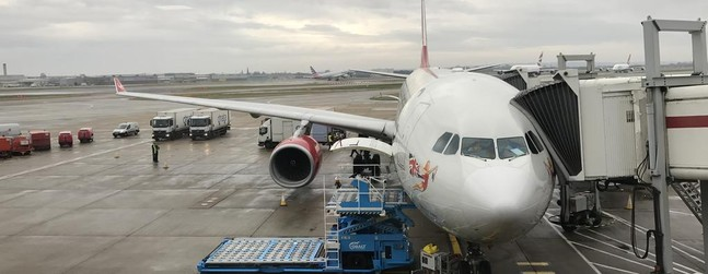 Review of Virgin Atlantic flight from London to New York in