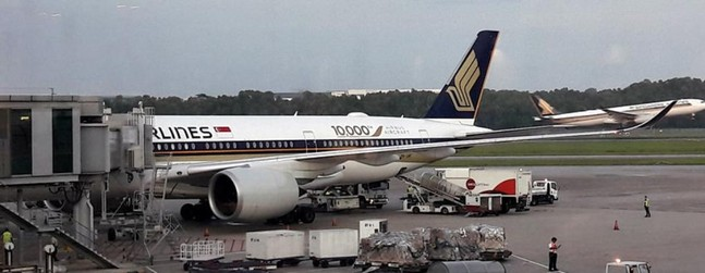 Review of Singapore Airlines flight from Singapore to Tokyo in Economy