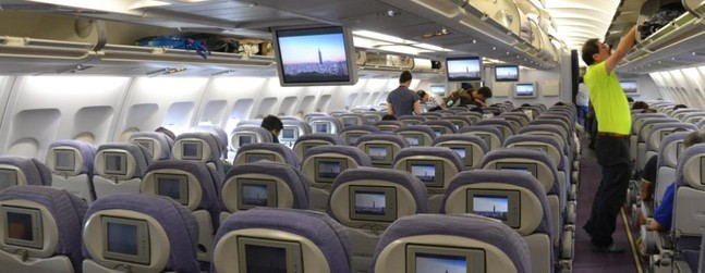 flight in airbus a340 300 403 photos reviews about this aircraft