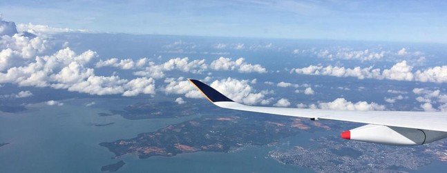 Review of Singapore Airlines flight from Singapore to Jakarta in Economy