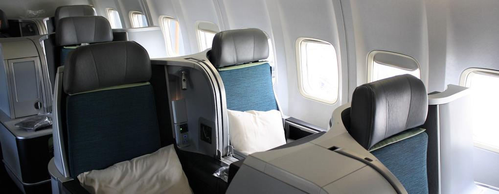 Review Of Aer Lingus Flight From Dublin To Washington In Business