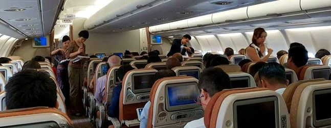 Review of Singapore Airlines flight from Singapore to Ho Chi ...