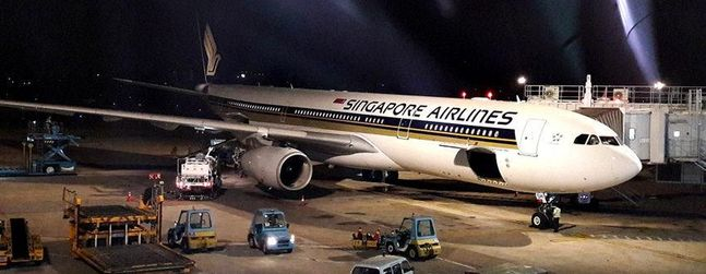 Review of Singapore Airlines flight from Ho Chi Minh City to ...
