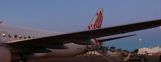 Review of Virgin Australia flight from Sydney to Adelaide in Economy
