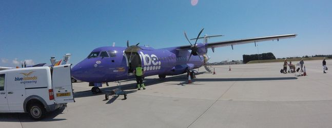 newest b564b 80a01 Review of Blue Islands flight from Southampton to Jersey in ...