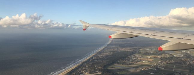 Review of British Airways flight from London to Amsterdam in