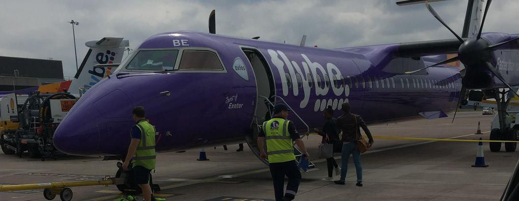 Review of Flybe flight from Manchester to Edinburgh in Economy