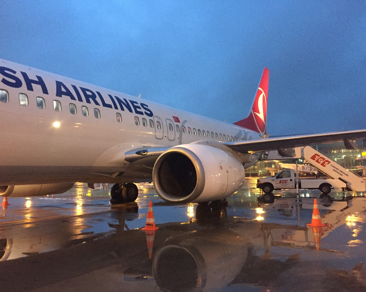 Review Of Turkish Airlines Flight From Izmir To Istanbul In Business