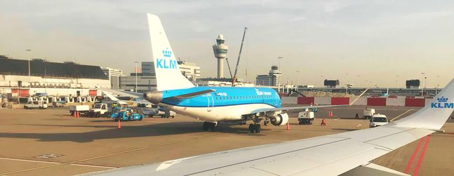 4d6fe39eafb Review of KLM flight from Geneva to Amsterdam in Economy