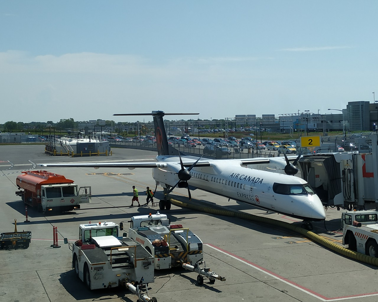Review of Air Canada Express - Jazz flight from Montreal