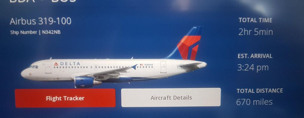 Review Of Delta Air Lines Flight From Hamilton To Boston
