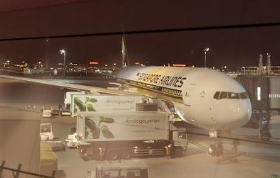 Review of Singapore Airlines flight from Singapore to Tokyo in Business